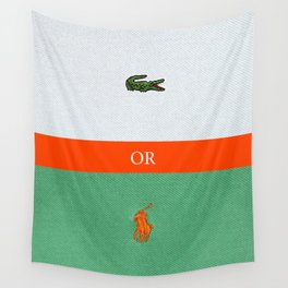 TENNIS or POLO Wall Tapestry