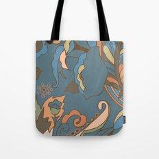 Modern Abstract Shapes Tote Bag