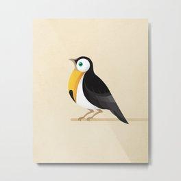 A Robin or a Toucan Bird? Metal Print