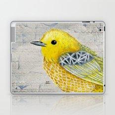 Yellow Warbler Tilly (Vintage Edition) Laptop & iPad Skin