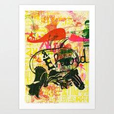 É Hard Art Print