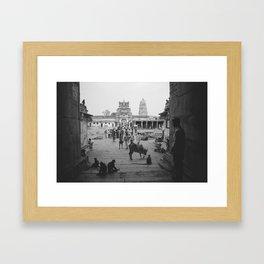 Hampi. Karnataka Framed Art Print