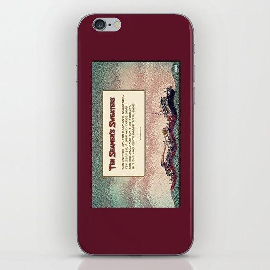 Ten Seamen's Sweaters iPhone & iPod Skin