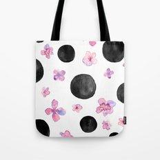 Flora dots Tote Bag