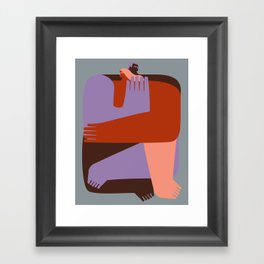 Abrazo Framed Art Print