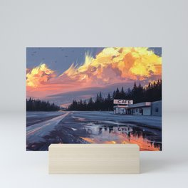 Horizon Mini Art Print