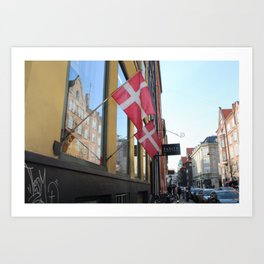 copenhagen_two Art Print