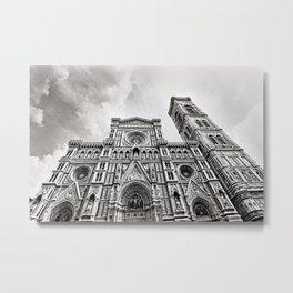 Il Duomo di Firenze - B&W Metal Print