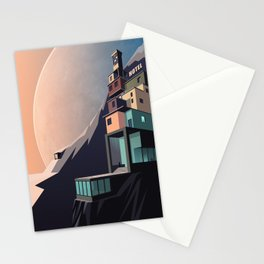 Interplanetary arrivals Stationery Cards