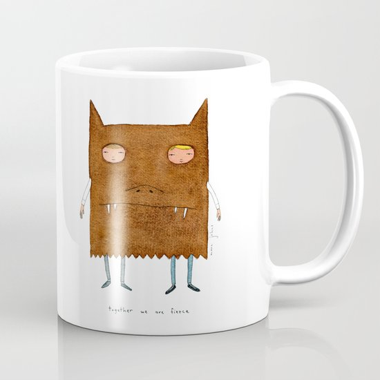together we are fierce Mug