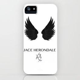 The Mortal Instruments Jace iPhone Case