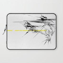 Holy Weapon // (Glitch Owl) Laptop Sleeve