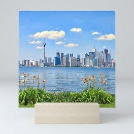 Canada Photography - Toronto Seen From A Park Mini Art Print