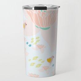 Lotus and babybird Travel Mug