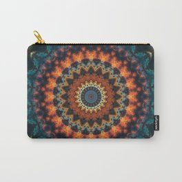 Fundamental Spiral Mandala Carry-All Pouch