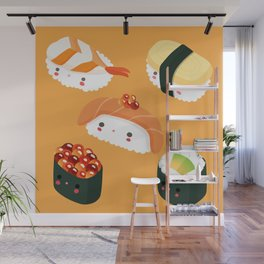 Kiddo Sushi Wall Mural