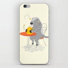 Honeybadger à Paris iPhone & iPod Skin