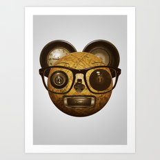 The surprised thing Art Print