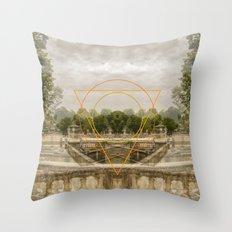 a passage through time Throw Pillow