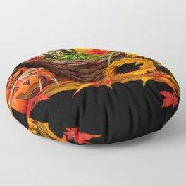 Halloween pumkin Floor Pillow