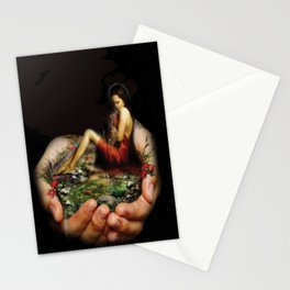I will keep you surrealism digital art Stationery Cards