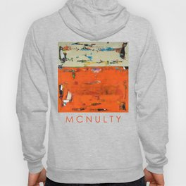 Roadrunner Bright Orange Abstract Colorful Art Painting Hoody