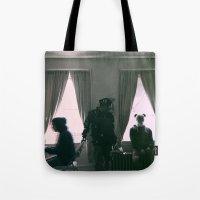burgundy Tote Bags featuring Burgundy. by mr_iiozo