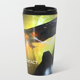 We Have Contact - Portrait 01 Travel Mug