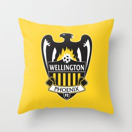 Wellington Phoenix Throw Pillow