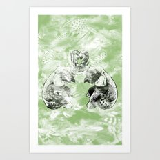 Plumpy Love Art Print