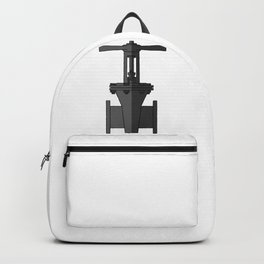 Gate valve in beautiful design Fashion Modern Style Backpack