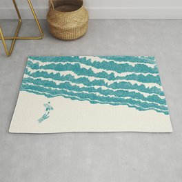 To the sea Rug