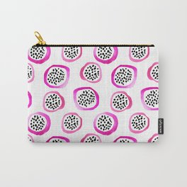 Watercolor Dragon Fruits Carry-All Pouch