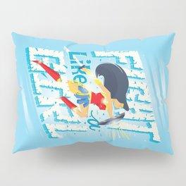 Fight like a girl Pillow Sham