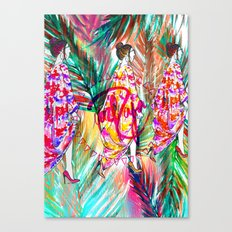 Summer Vibes #fashionillustration  Canvas Print