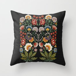 Plant a garden Throw Pillow