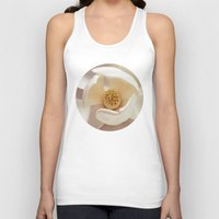 magnolia Tank Tops featuring Magnolia by Esther Ní Dhonnacha