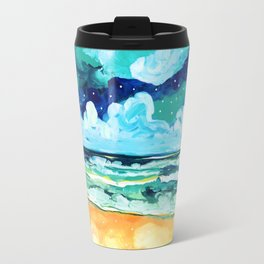 Simple Seascape X Travel Mug
