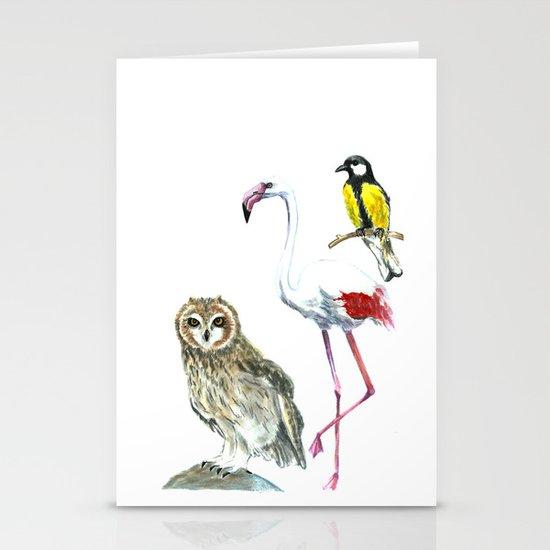 Birds 2 Stationery Cards