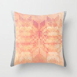 Winter Forest Throw Pillow