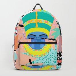 Postmodern Nefertiti Backpack