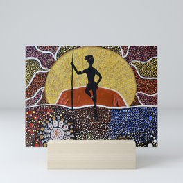 VOICE. TREATY. TRUTH. THE ULURU STATEMENT FROM THE HEART Mini Art Print