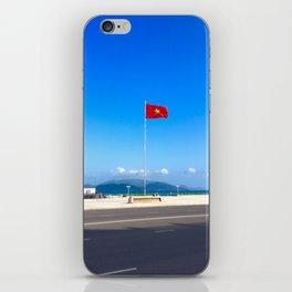 Vietnam Flying Flag iPhone Skin