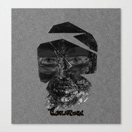 Tornface Canvas Print