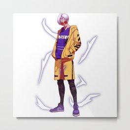 Trunks Ball-z X AJ1 Metal Print
