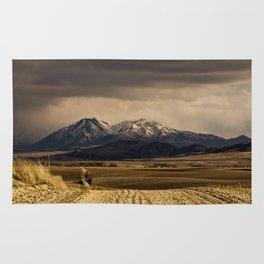 Mountain Road Photograph Rug
