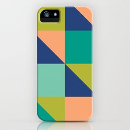 Gemma Retro Tile iPhone Case