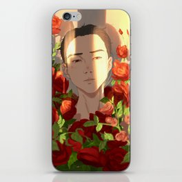 Surrounded by Roses iPhone Skin