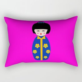 Japanese girl Rectangular Pillow
