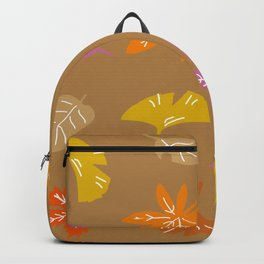Autumn Leaves_A Backpack